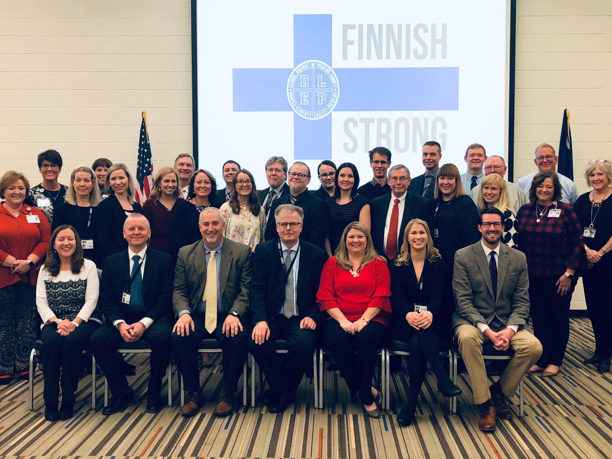 Group Photo of SDPC and Finnish educators