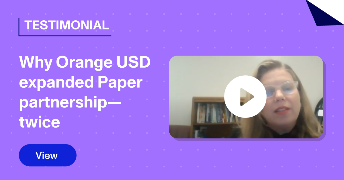 Thumbnail of Link to Testimonial - Orange USD
