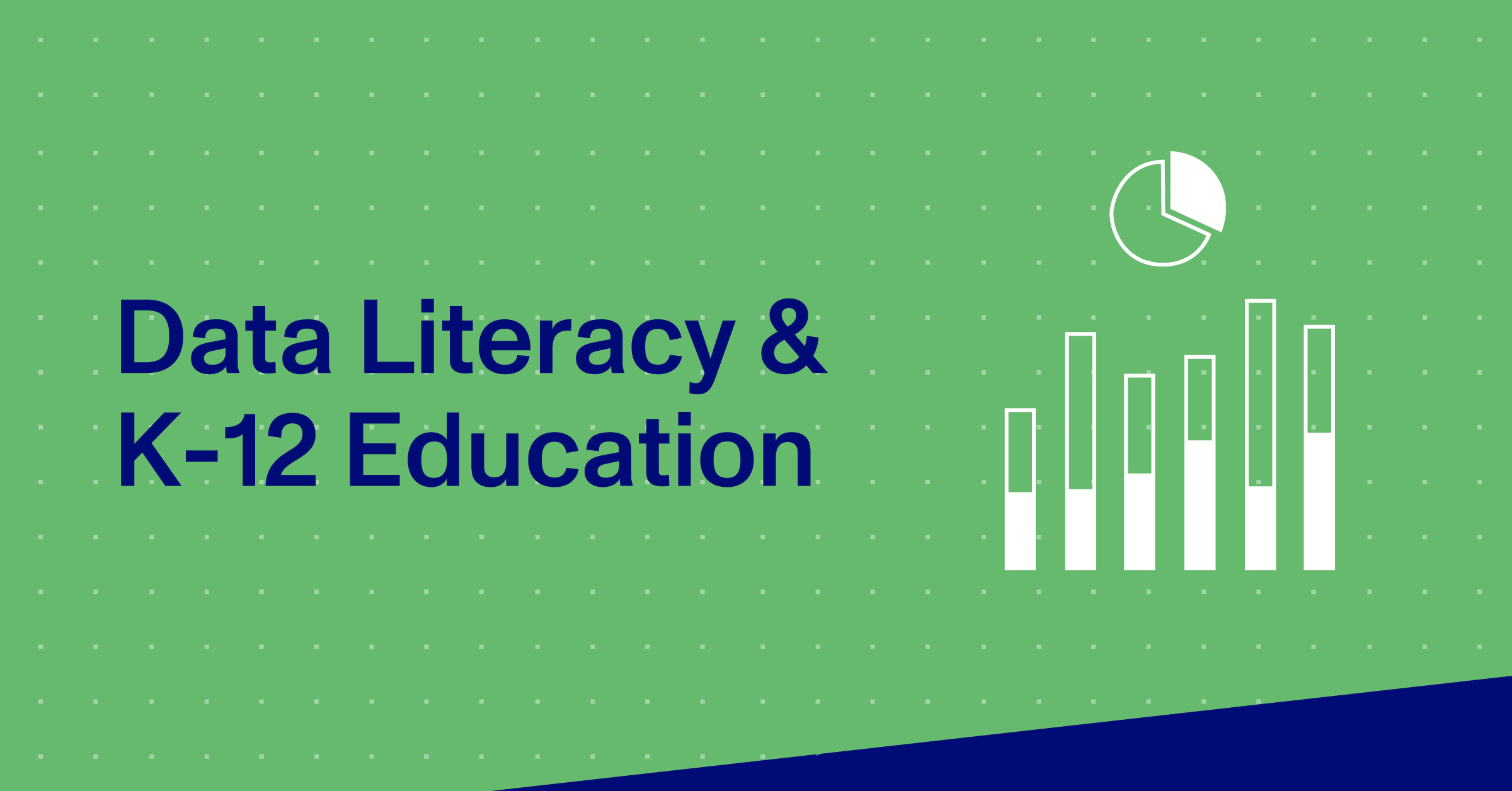 Blog Thumbnail, Data Literacy & K-12 Education