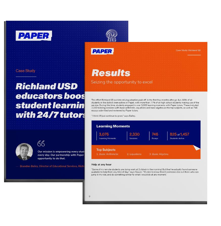 Thumbnail of Richland SD Case Study