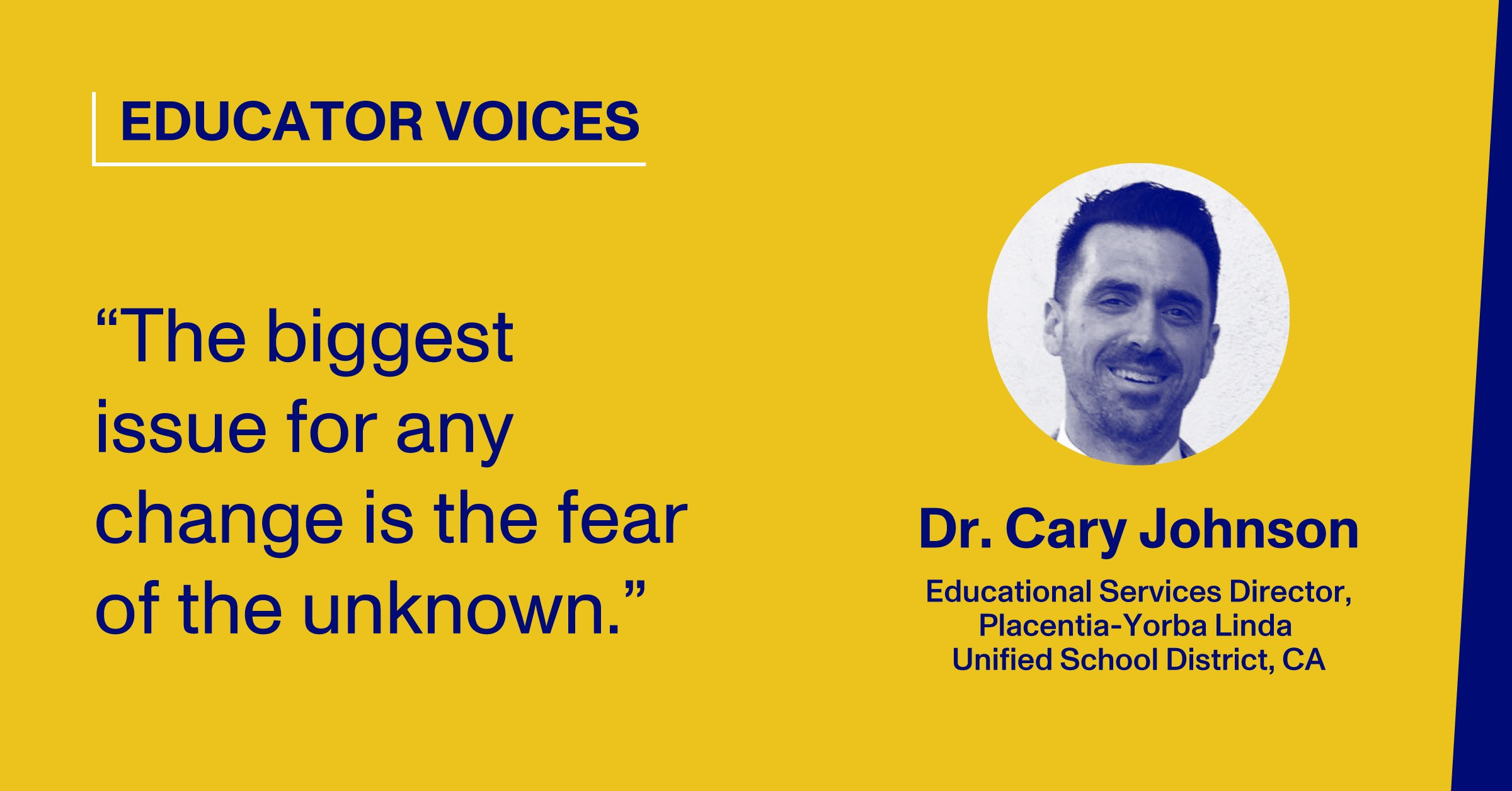 Blog Thumbnail With Headshot and Quote by Dr. Cary Johnson