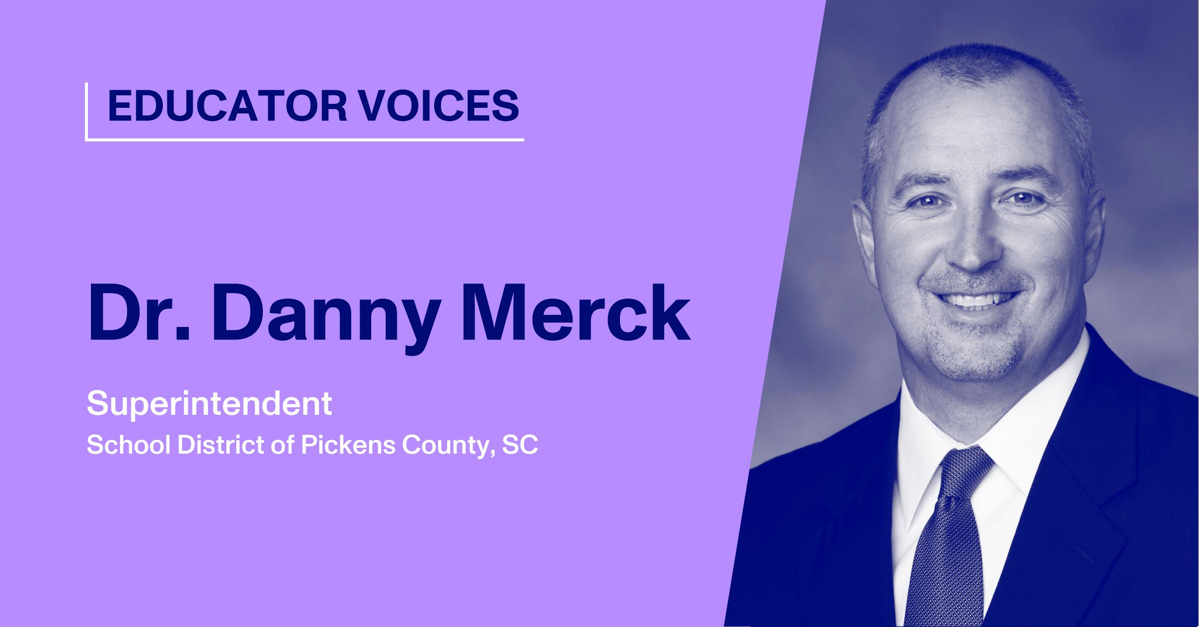 Blog Thumbnail with Headshot of Dr. Danny Merck