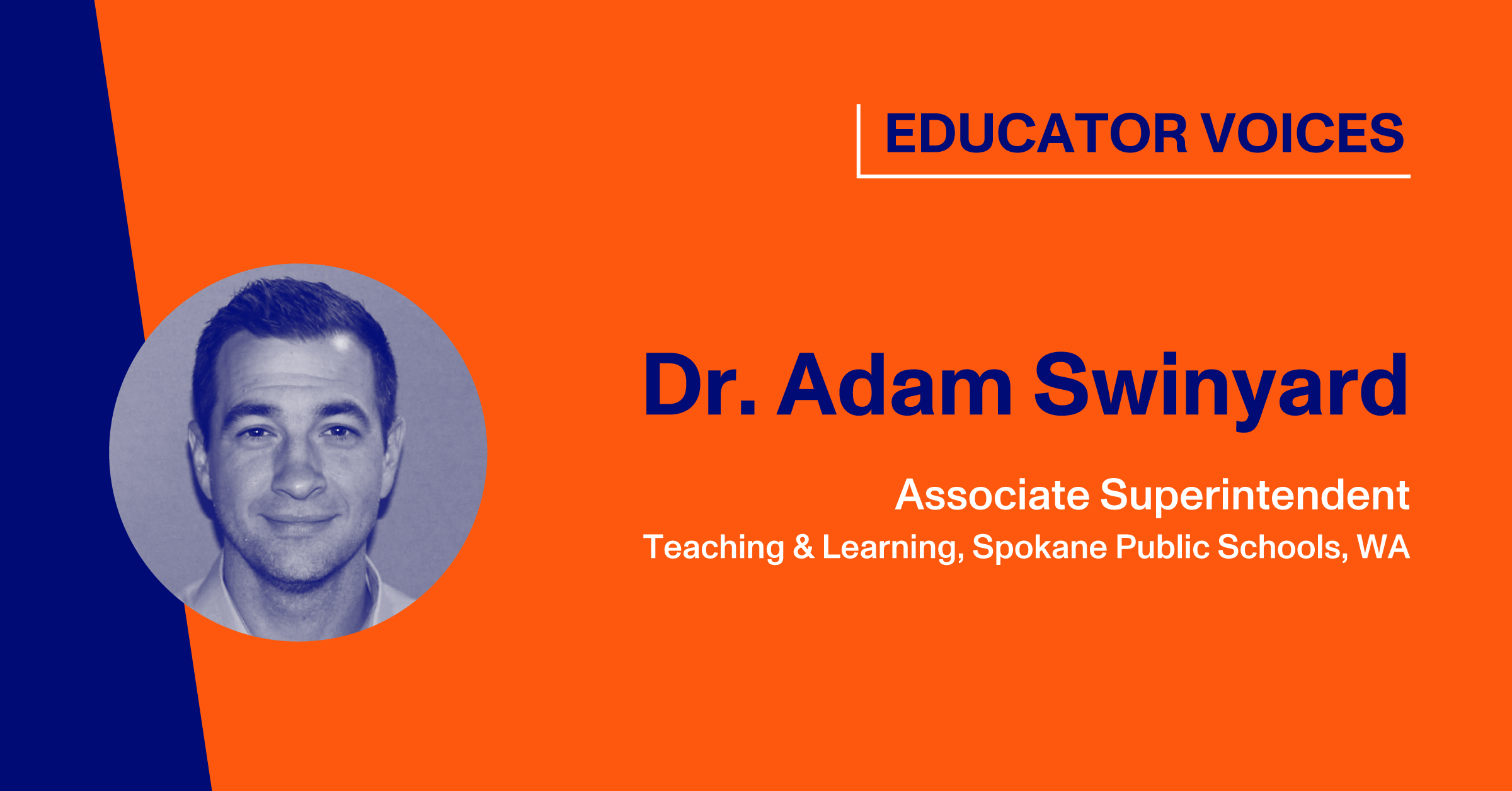 Blog Thumbnail with Headshot of Dr. Adam Swinyard