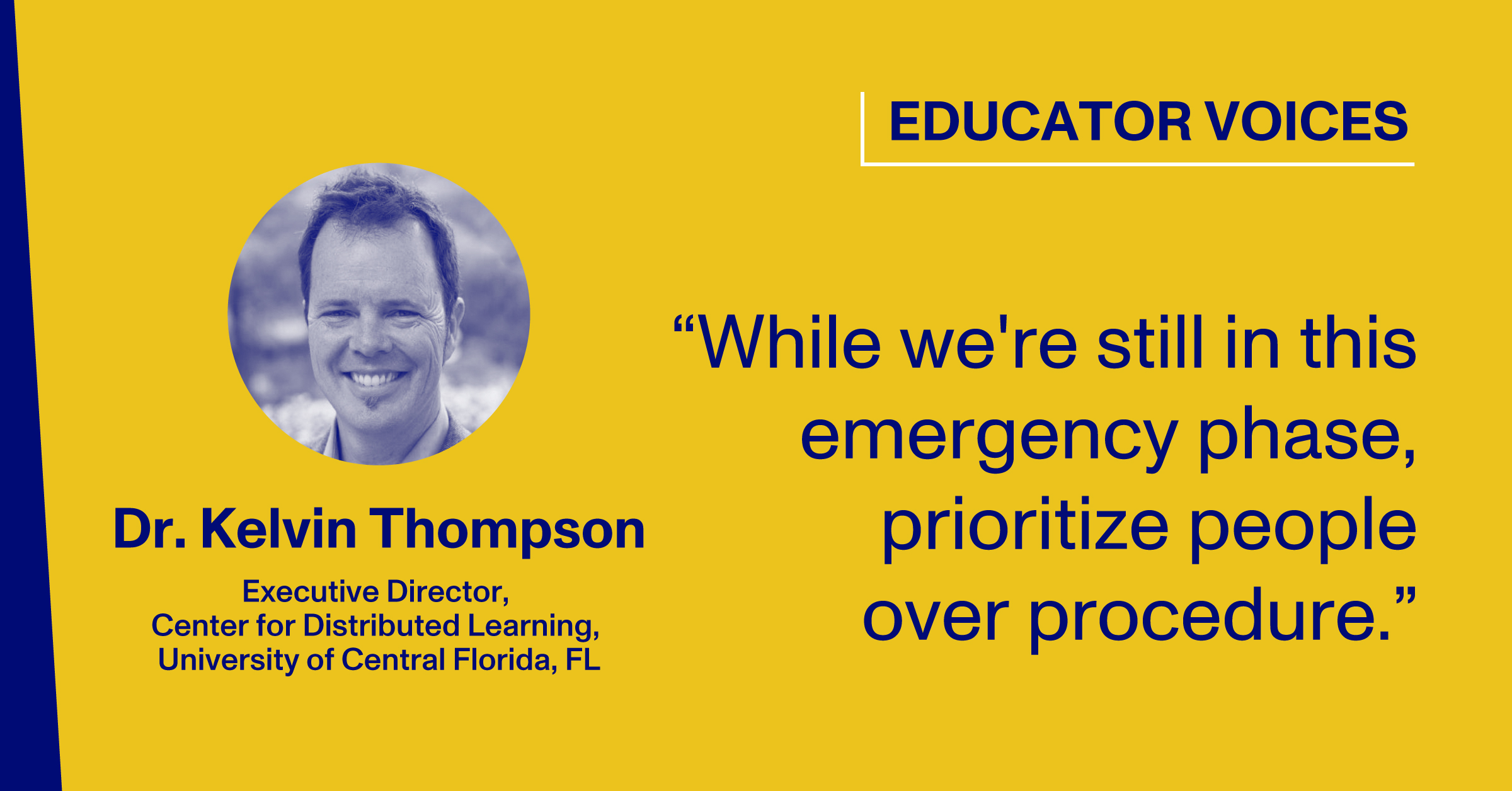 Blog Thumbnail with Headshot and Quote by Dr. Kelvin Thompson