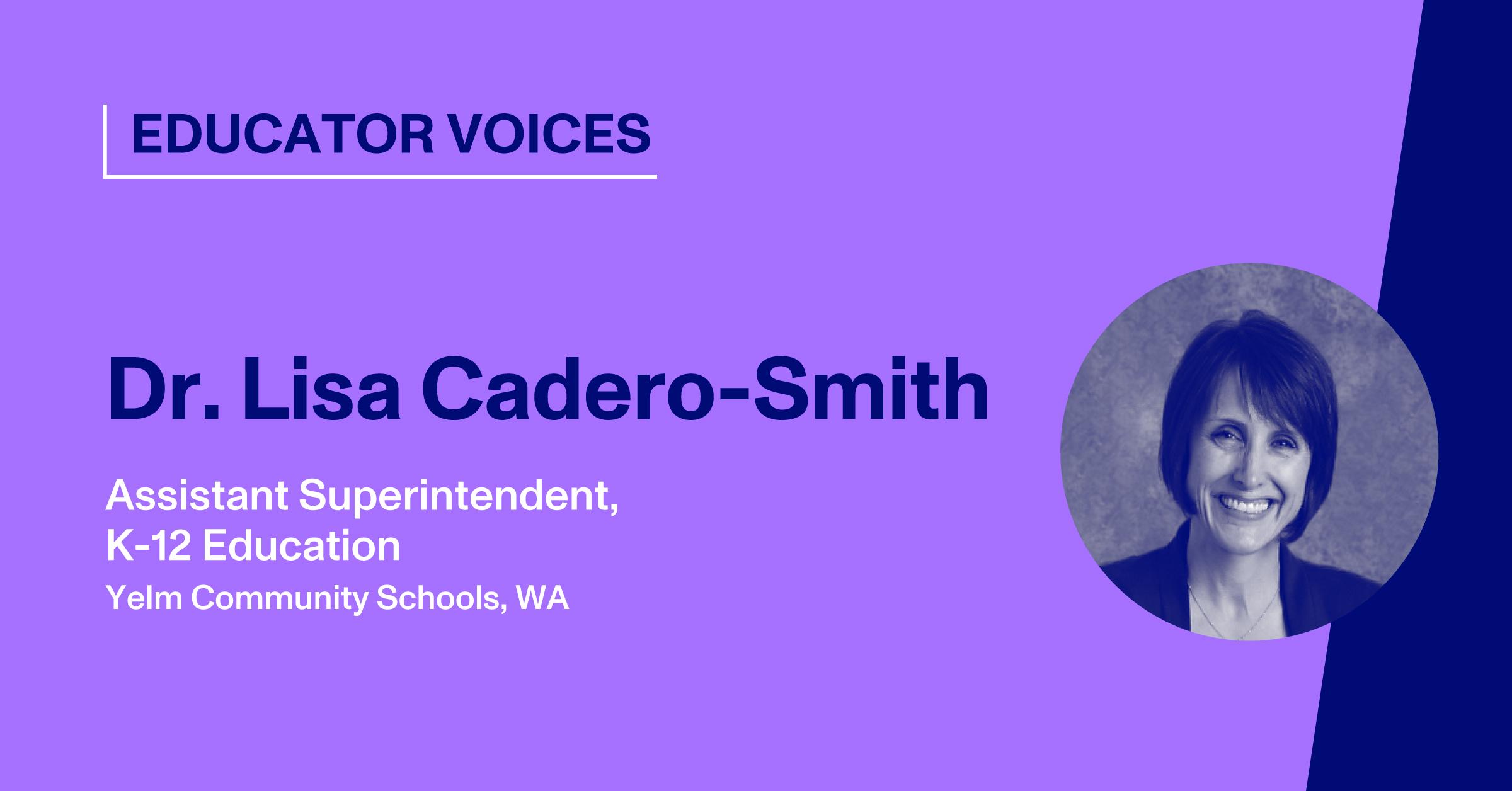 Blog Thumbnail with Headshot of Lisa Cadero-Smith