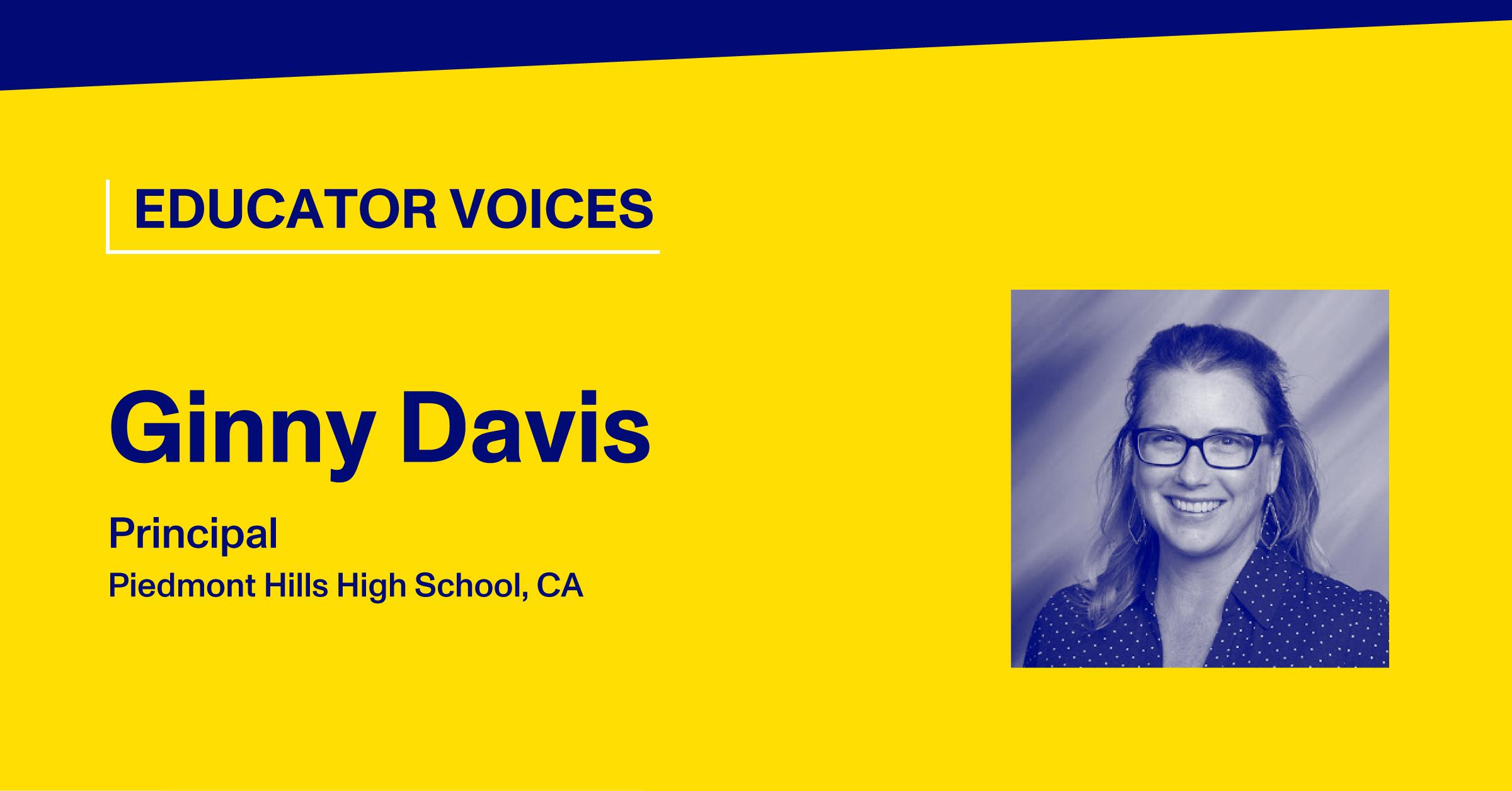 Blog Thumbnail with Headshot of Ginny Davis