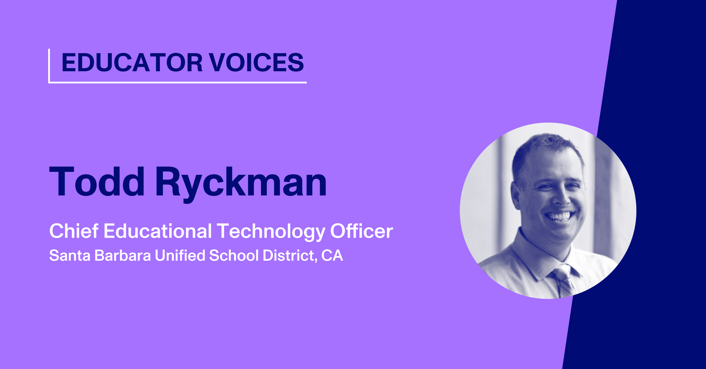 Blog Thumbnail with Headshot of Todd Ryckman