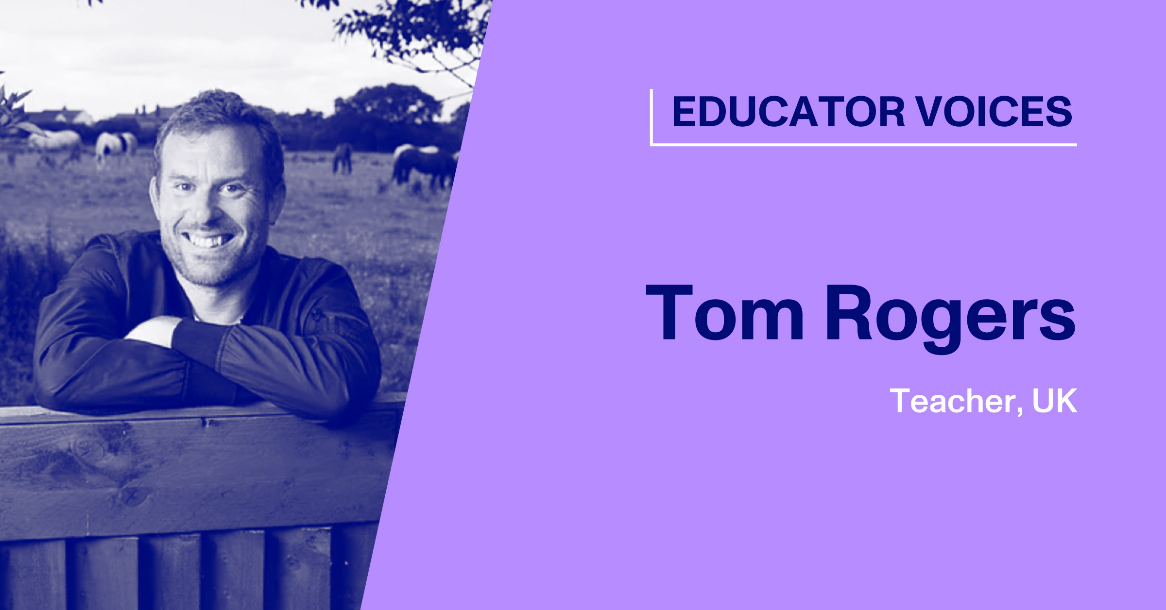 Blog Thumbnail with Headshot of Tom Rogers