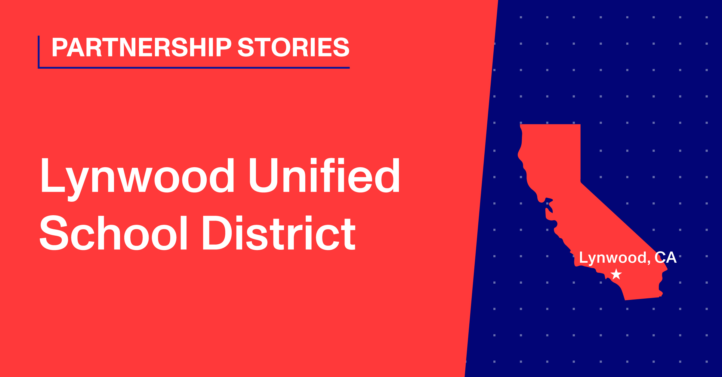 Lynwood Unified School District blog header