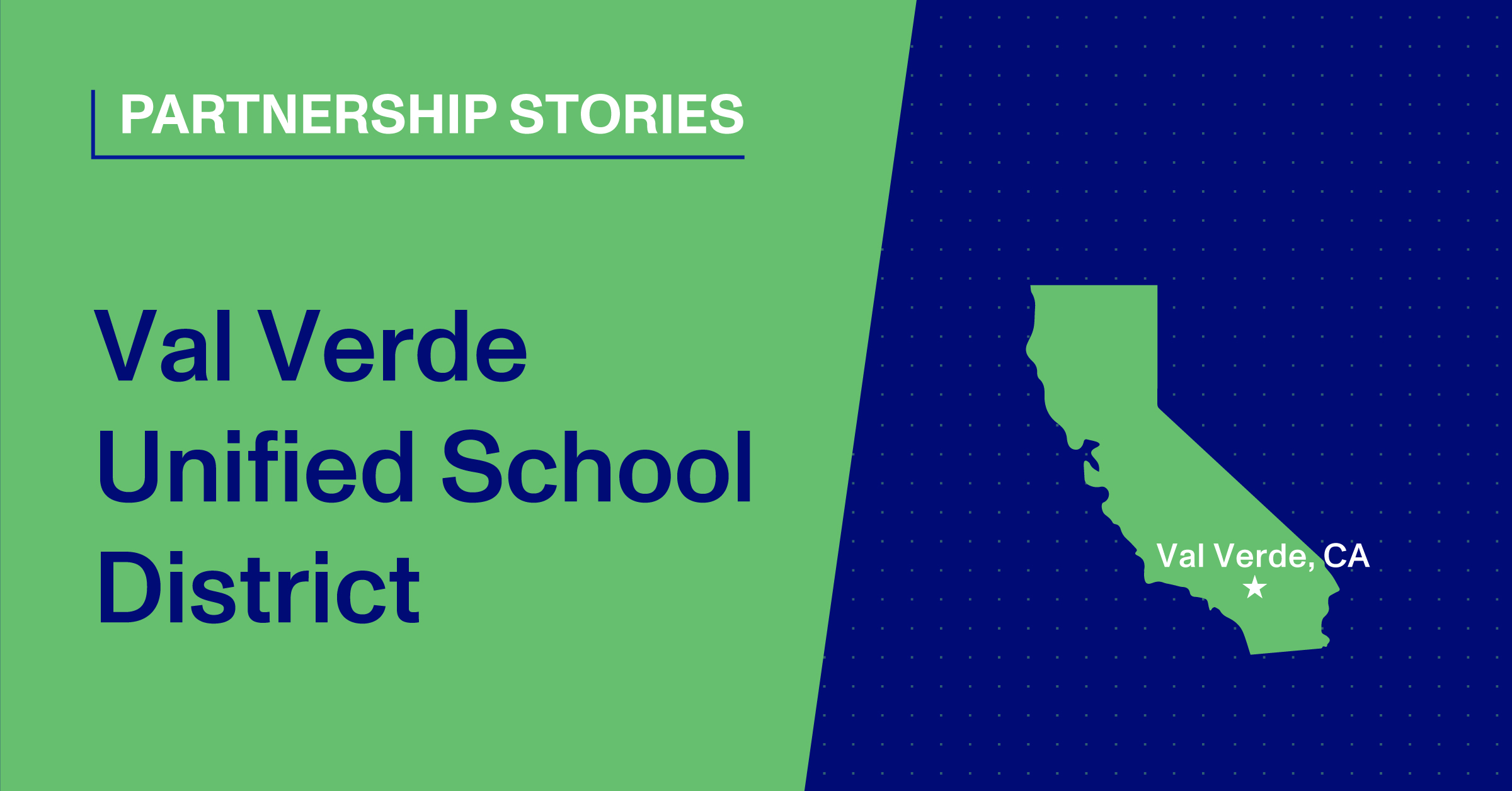 Blog Thumbnail, Val Verde Unified School District