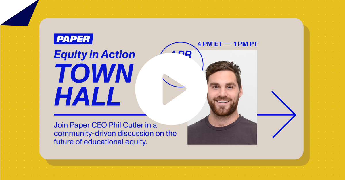 Video Thumbnail of Paper's Town Hall with Phil Cutler, CEO