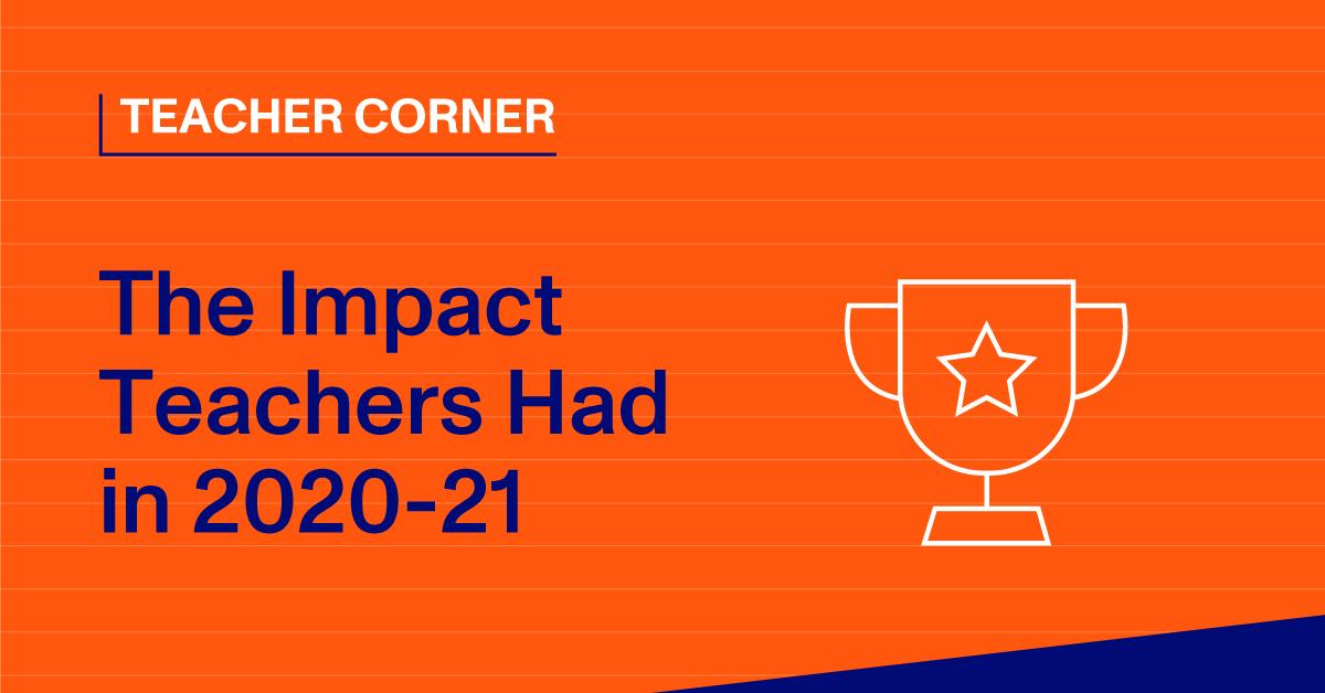 Blog Thumbnail - The Impact Teachers Had in 2020-21
